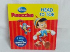 Adorable Disney Baby 'Pinocchio' Head to Toe Picture Glossy Board Book